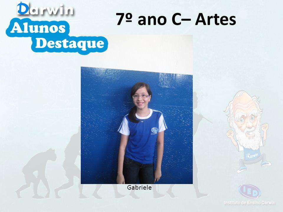 Gabriele 7º ano C– Artes