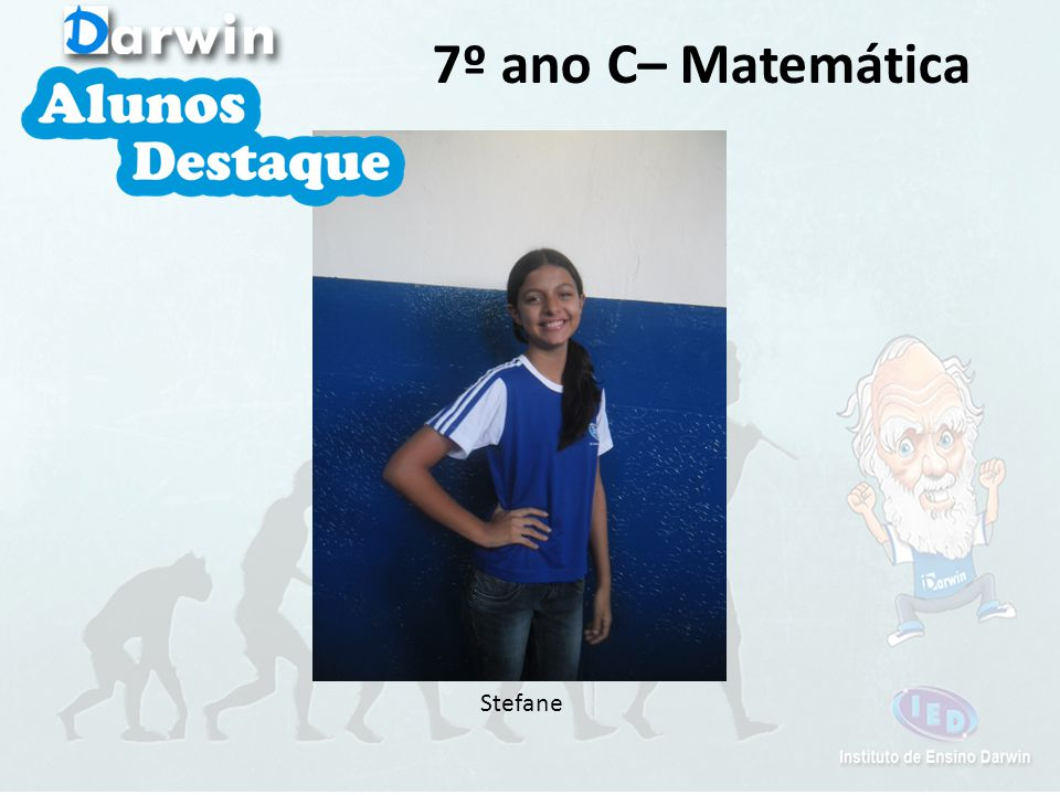 Stefane 7º ano C– Matemática