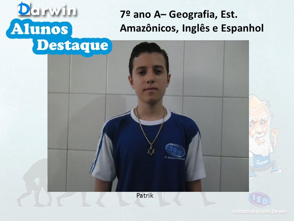 P. Roberto 7º ano A– História