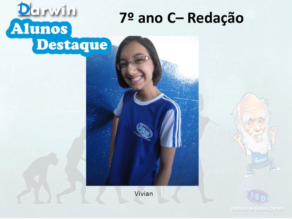 Vivian 7º ano C– Redação