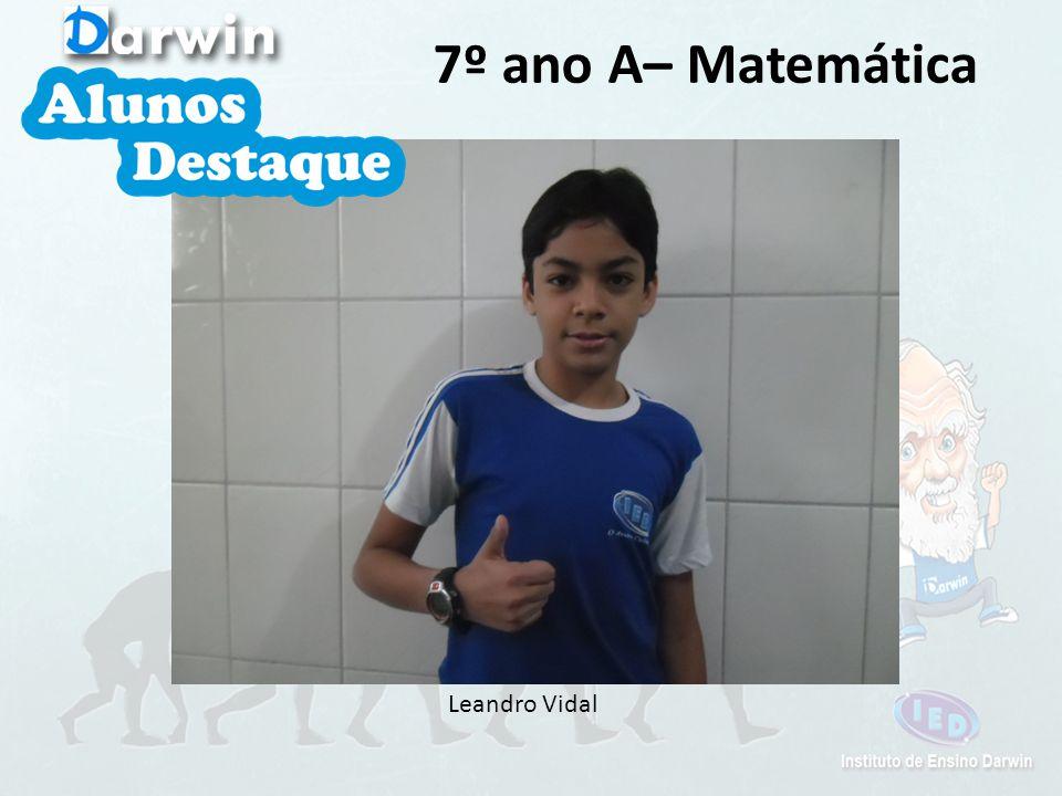 Brenda 7º ano A– Português, Química, Biologia e Ética