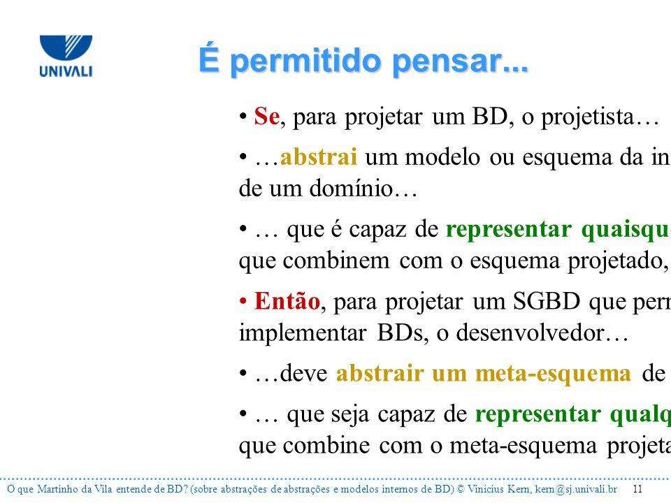 11O que Martinho da Vila entende de BD.