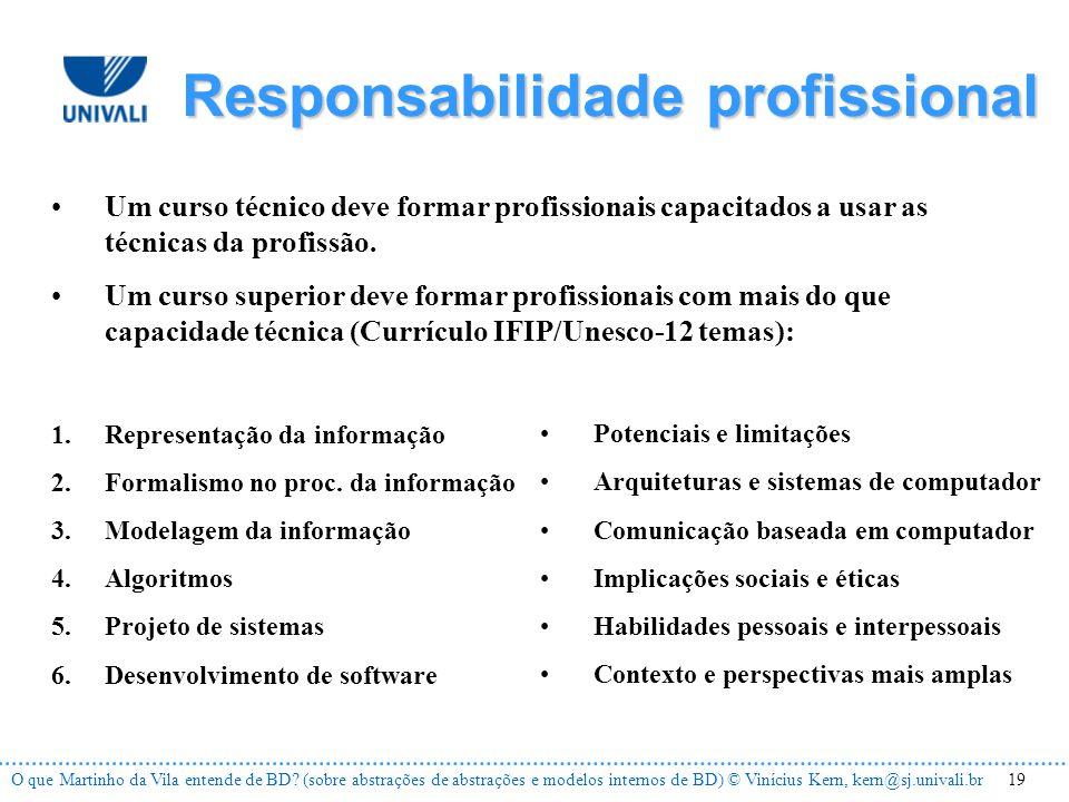 19O que Martinho da Vila entende de BD.