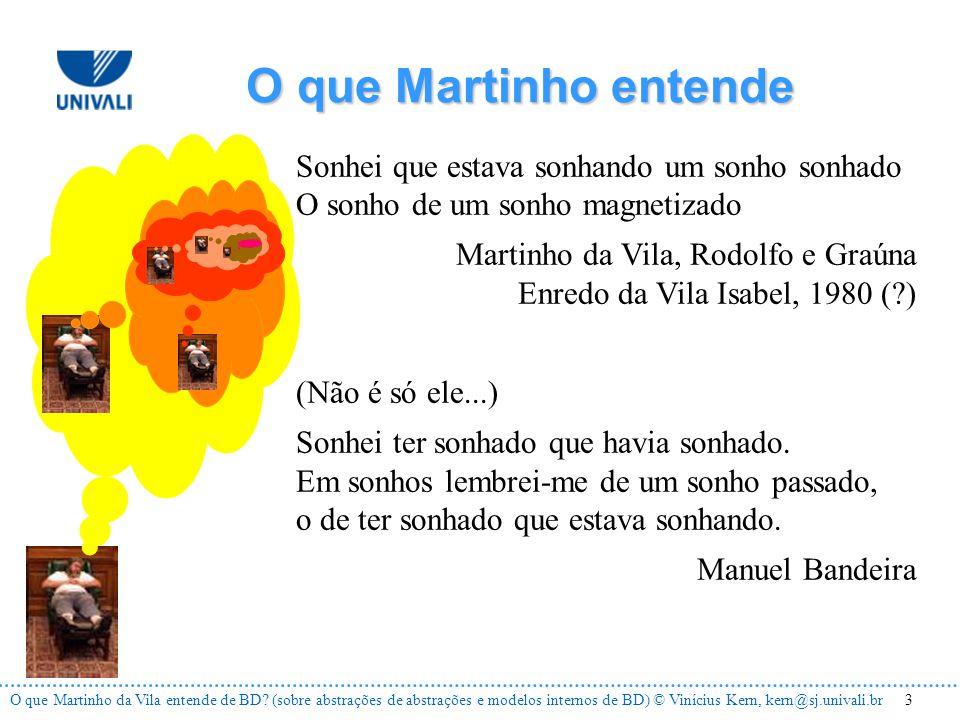 4O que Martinho da Vila entende de BD.