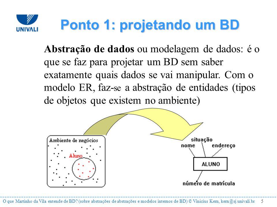 5O que Martinho da Vila entende de BD.