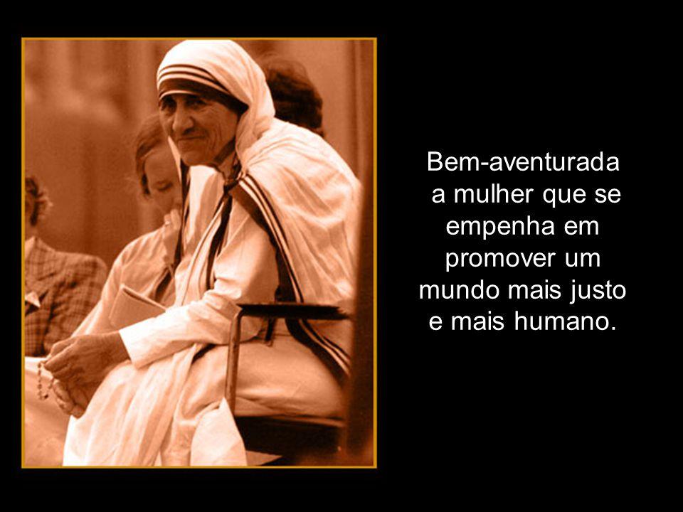 Bem-aventurada a mulher que, em seu caminho, encontra Jesus: escuta-O, acolhe-O, segue-O, como tantas mulheres do evangelho, e se deixa iluminar por Ele na opção de vida.