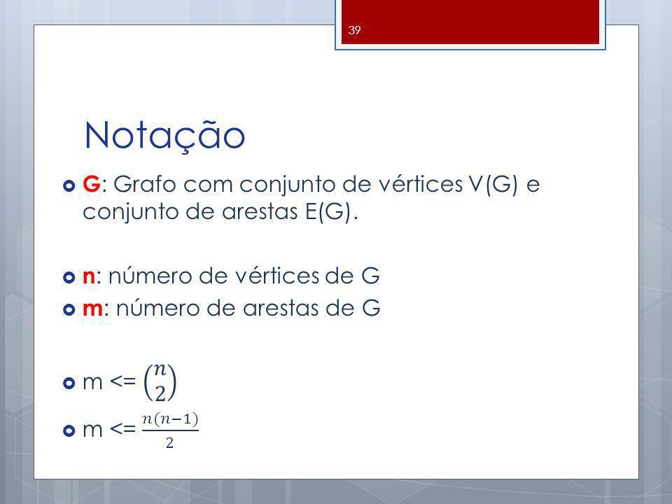 Notação 39