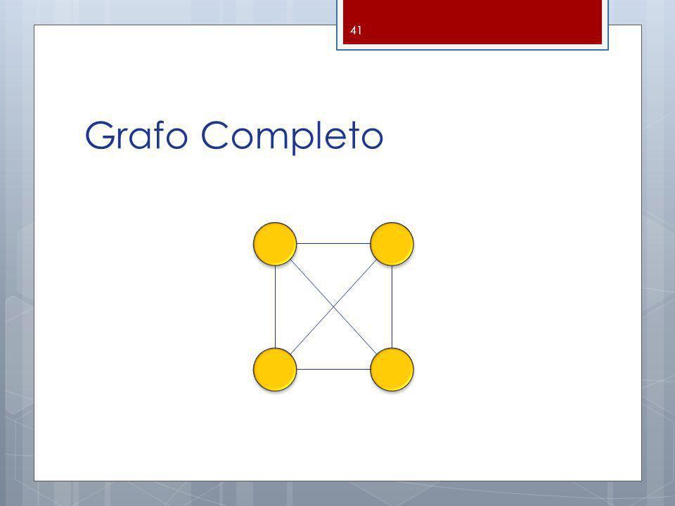 Grafo Completo 41