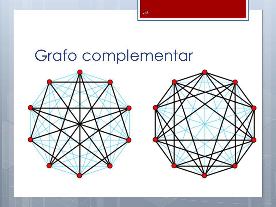 Grafo complementar 53