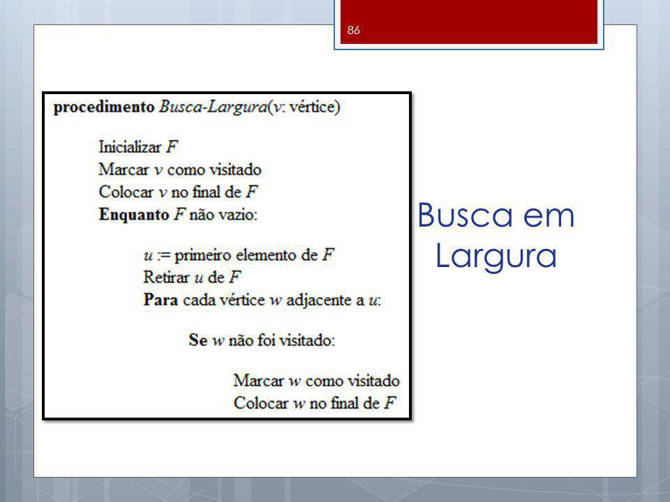 Busca em Largura 86