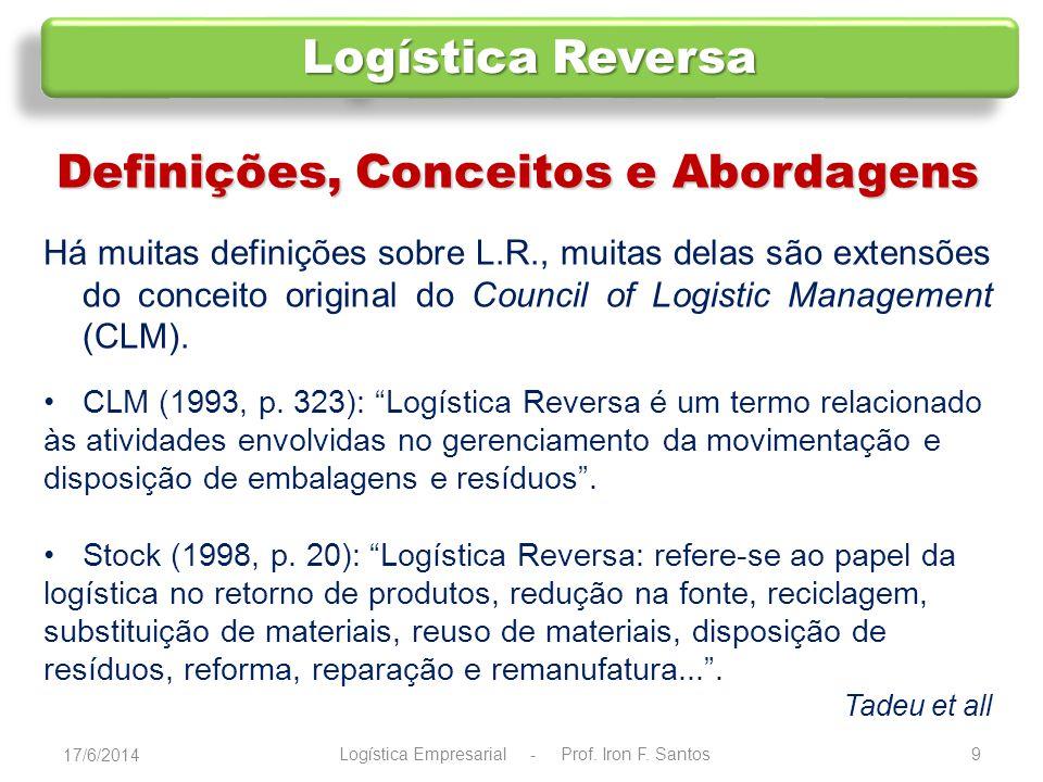 10 Definições, Conceitos e Abordagens Rogers e Tibben-Lembke (1999, p.