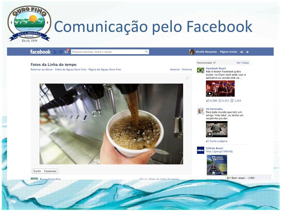 Comunicação pelo Facebook