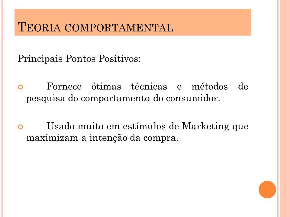 Principais Pontos Positivos: Fornece ótimas técnicas e métodos de pesquisa do comportamento do consumidor.