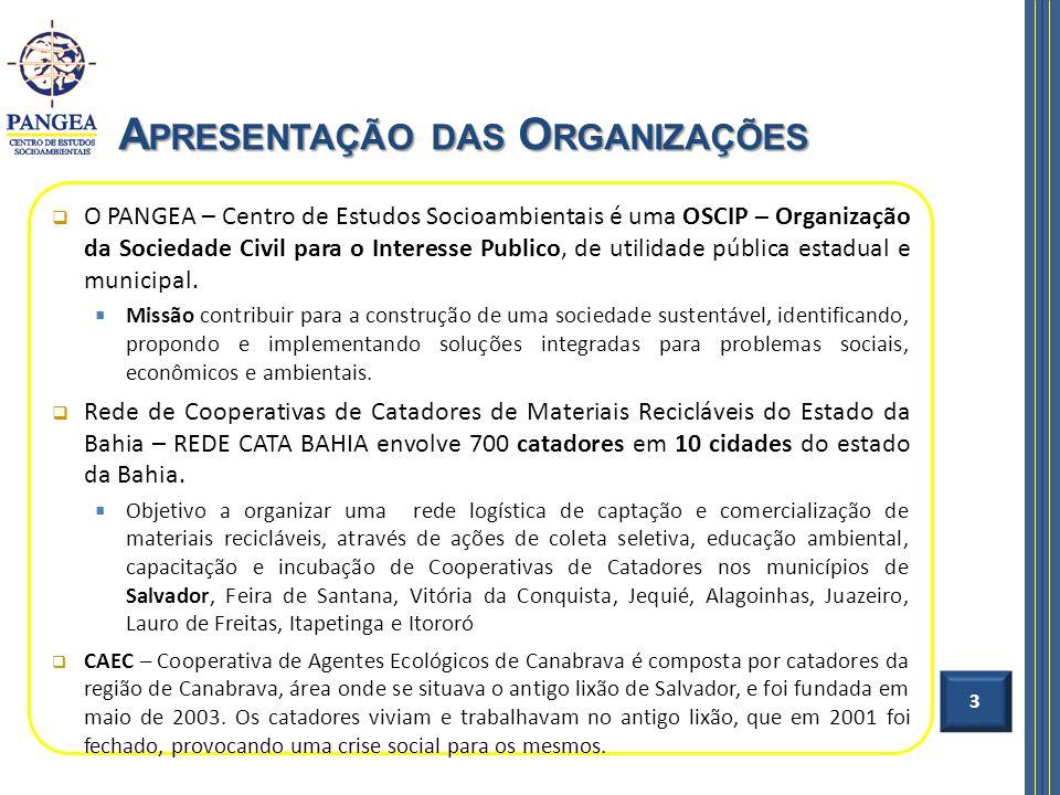 O PANGEA – Centro de Estudos Socioambientais é uma OSCIP – Organização da Sociedade Civil para o Interesse Publico, de utilidade pública estadual e mu