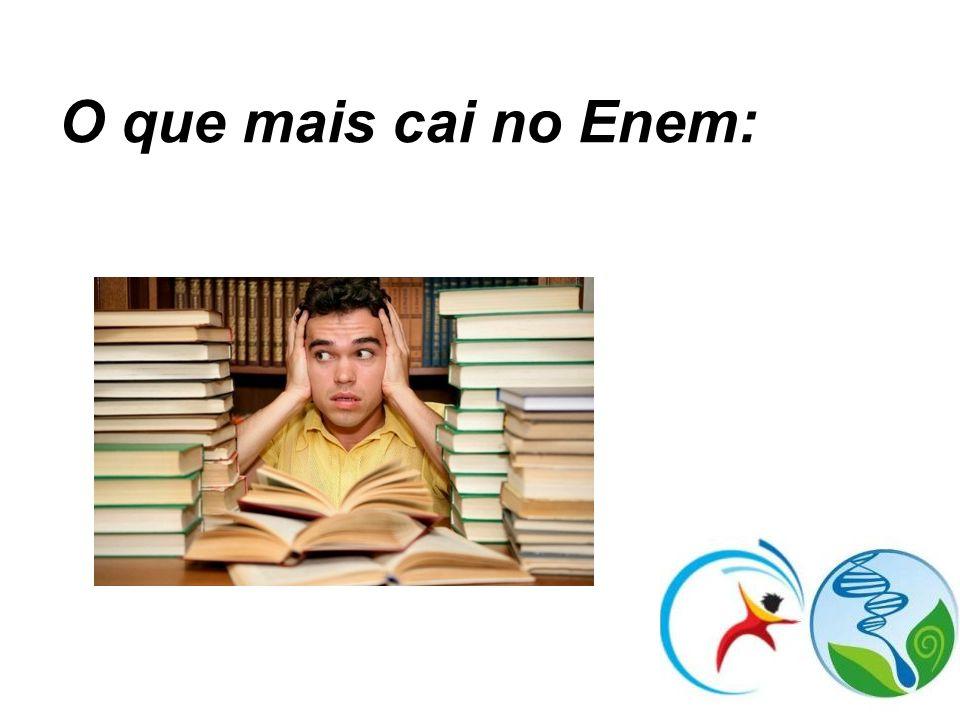 O que mais cai no Enem:
