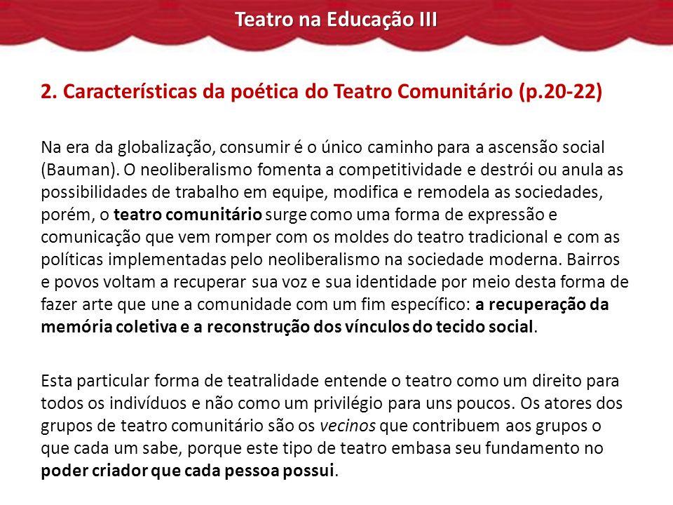 Teatro na Educação III 2.