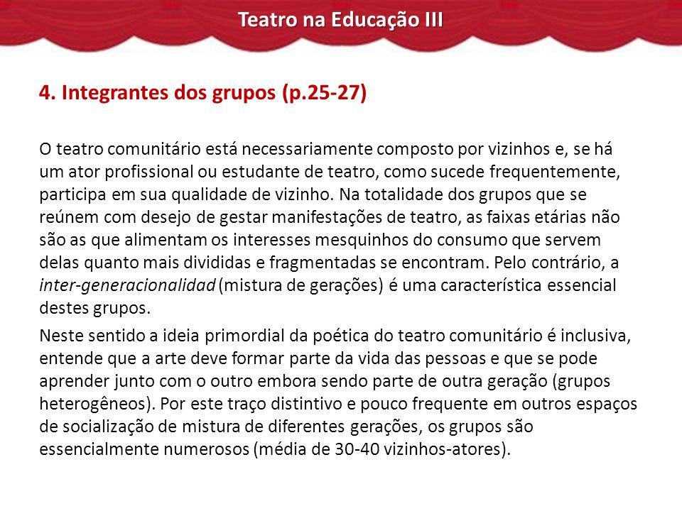 Teatro na Educação III 4.