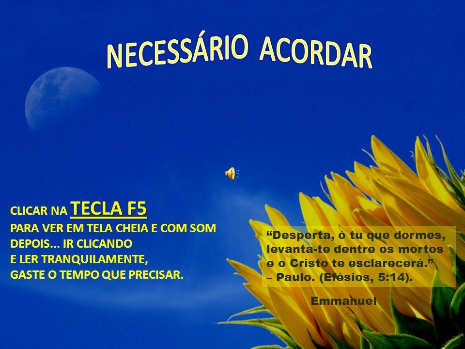 TECLA F5 CLICAR NA TECLA F5 PARA VER EM TELA CHEIA E COM SOM DEPOIS...