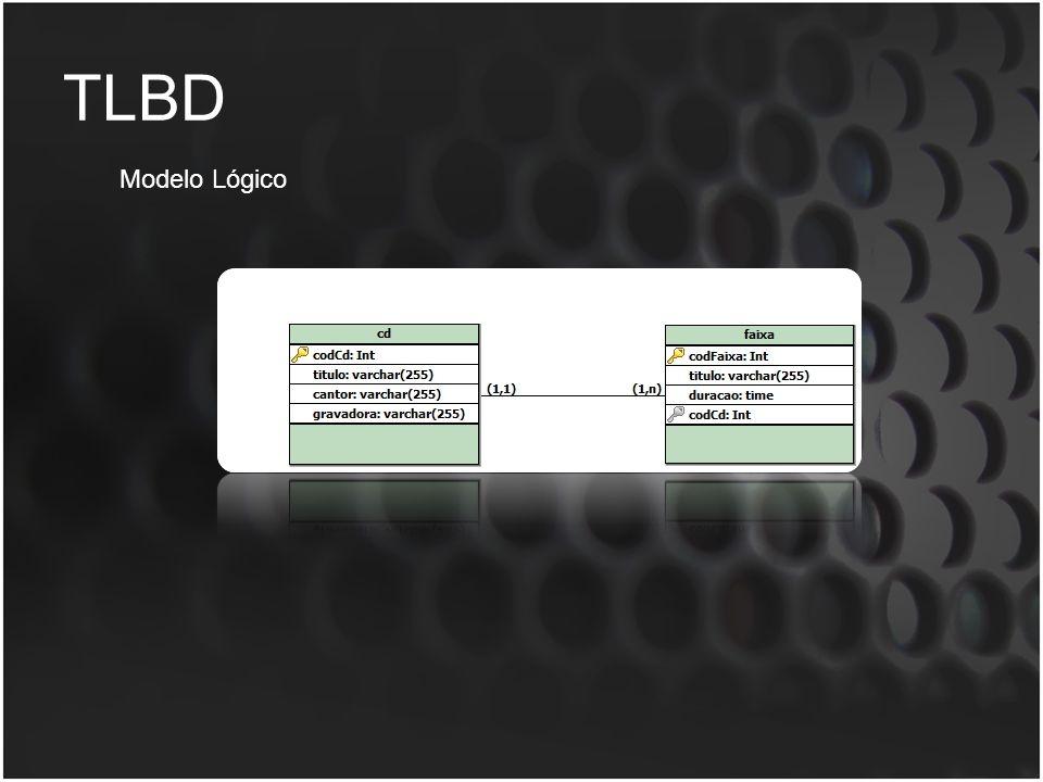 TLBD Modelo Lógico