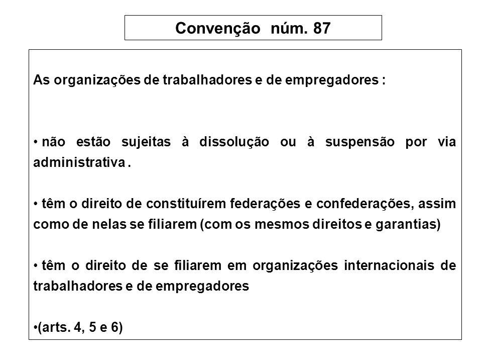 Convenção núm.