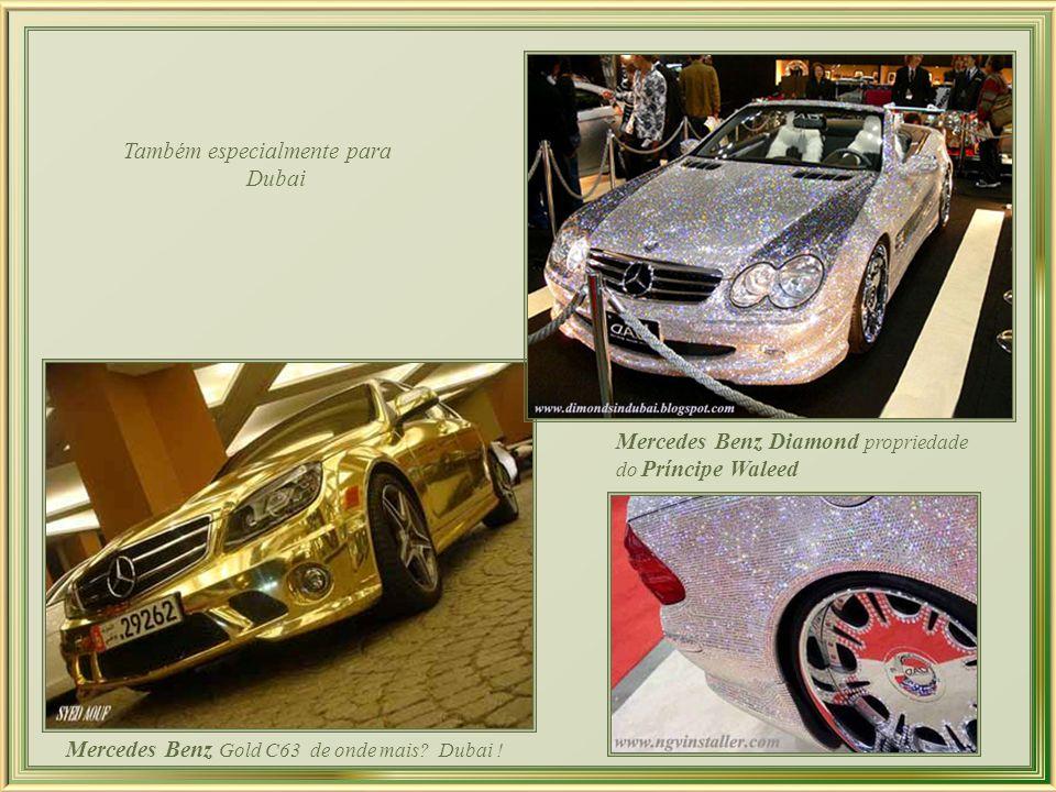 Para atender a excentricidade, o luxo extremo e a exclusividade que reina em Dubai, a Bugati lançou três edições limitadas de seu carro superesportivo