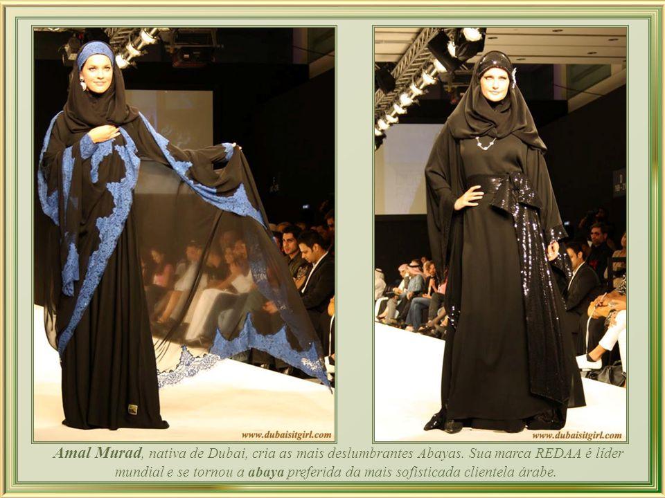 O código de vestimenta islâmico não é obrigatório e roupas de estilo ocidental já são dominantes em Dubai, onde são promovidos requintados desfiles de