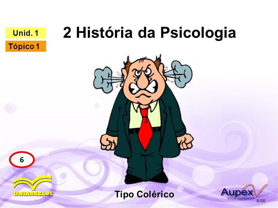 2 História da Psicologia 9/88 6 Unid.1 Tópico 1 3.