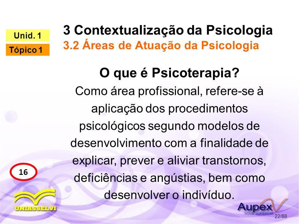 TÓPICO 2 23/88 Psicologia Organizacional e do Trabalho