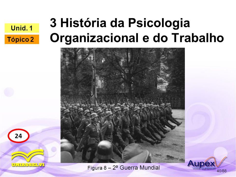 3 História da Psicologia Organizacional e do Trabalho 41/88 26 Unid.