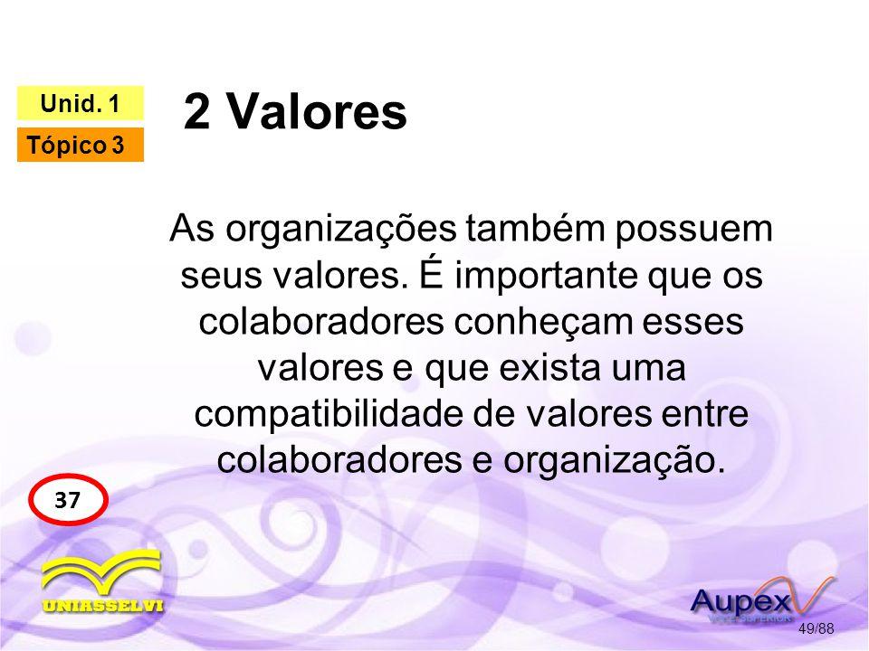2 Valores 50/88 37 Unid.