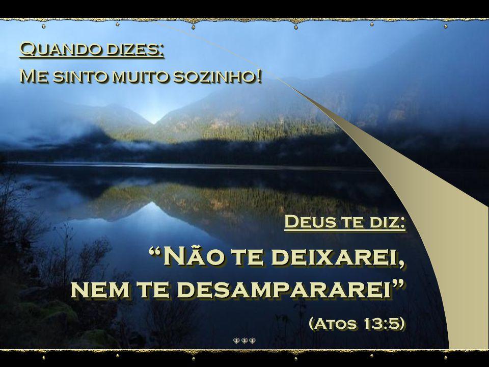 Quando dizes: É impossível! Quando dizes: É impossível! Deus te diz: Tudo é possível (Lucas 18:27) Deus te diz: Tudo é possível (Lucas 18:27)