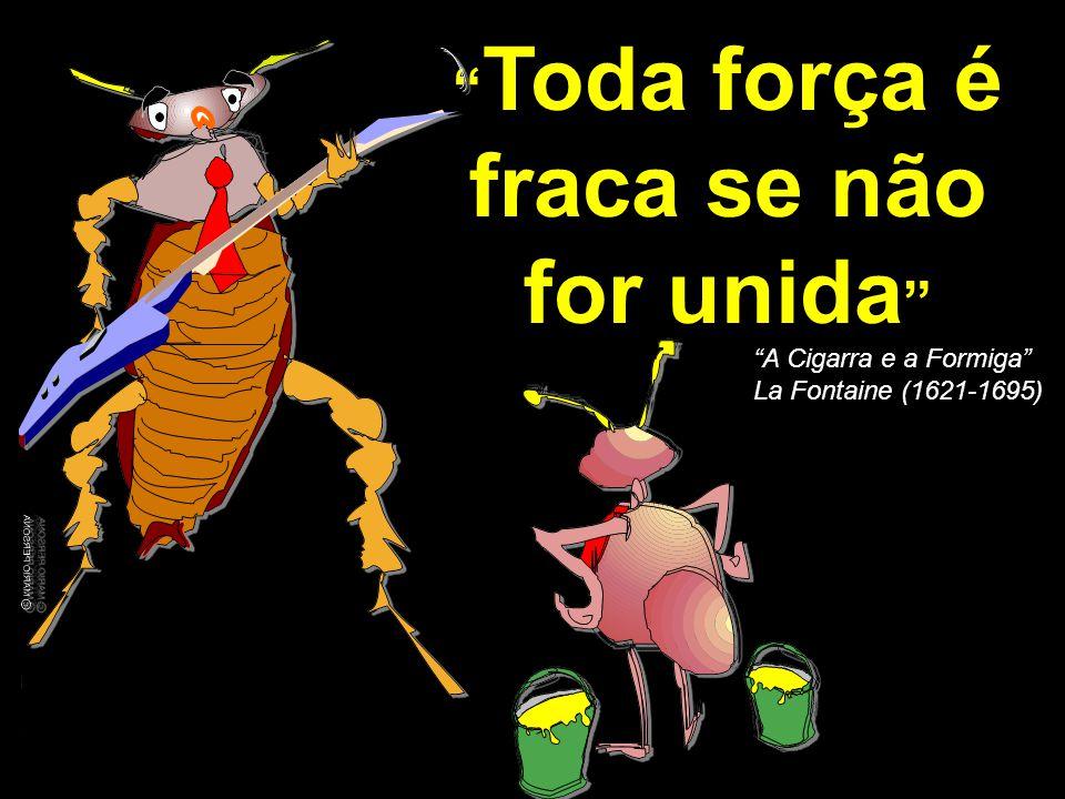 © MARIO PERSONA Comunicação & Marketing www.mariopersona.com.br Toda força é fraca se não for unida A Cigarra e a Formiga La Fontaine (1621-1695)