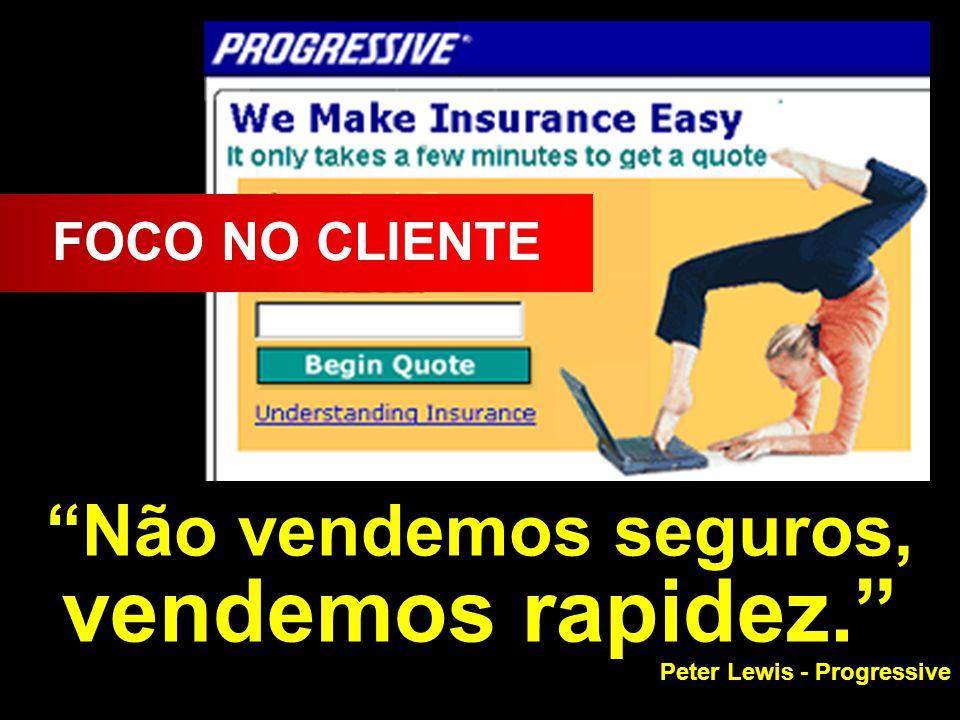 © MARIO PERSONA Comunicação & Marketing www.mariopersona.com.br Não vendemos seguros, vendemos rapidez.