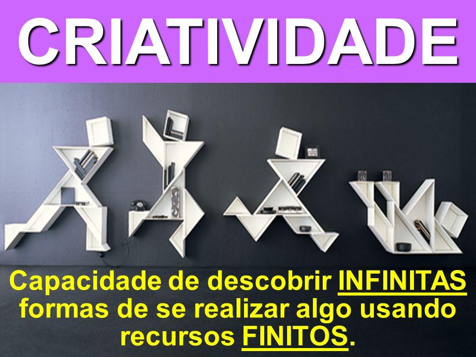 © MARIO PERSONA Comunicação & Marketing www.mariopersona.com.br Capacidade de descobrir INFINITAS formas de se realizar algo usando recursos FINITOS.CRIATIVIDADE