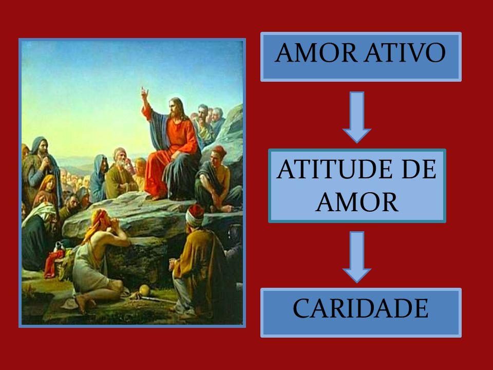 AMOR ATIVO ATITUDE DE AMOR CARIDADE