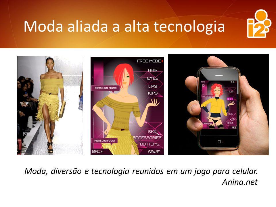 Moda aliada a alta tecnologia Moda, diversão e tecnologia reunidos em um jogo para celular.