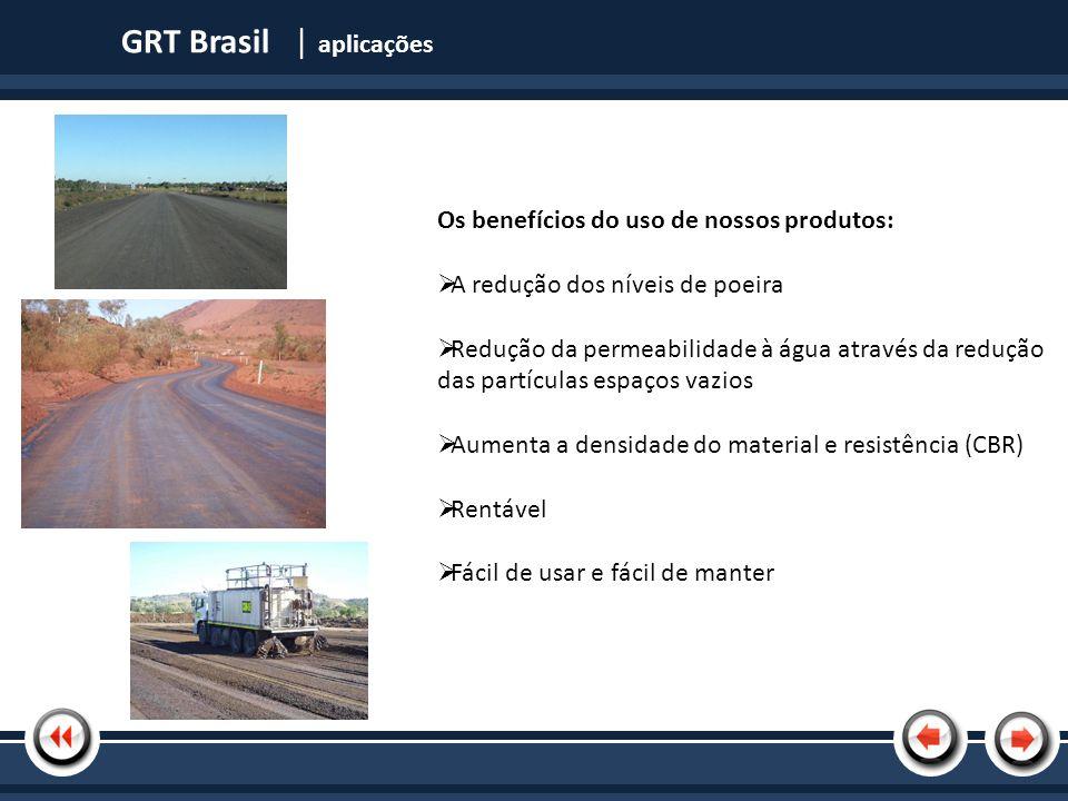Nome da Apresentação GRT Brasil | produtos