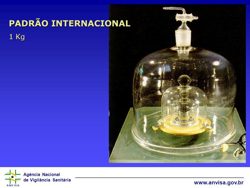 Agência Nacional de Vigilância Sanitária www.anvisa.gov.br Definição: VOLTA À ORIGEM ! RASTREABILIDADE DE MEDIÇÃO