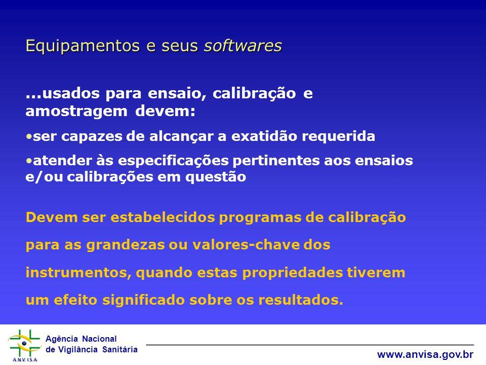 Agência Nacional de Vigilância Sanitária www.anvisa.gov.br Rastreabilidade de Medição NBR ISO/IEC 17025: 2001 - 5.6 INMETRO NIT DICLA 083:00 - 7.3
