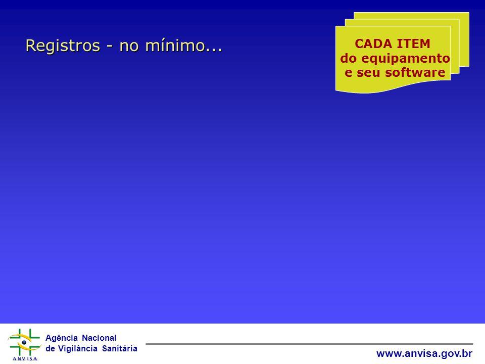 Agência Nacional de Vigilância Sanitária www.anvisa.gov.br PADRÃO INTERNACIONAL 1 Kg