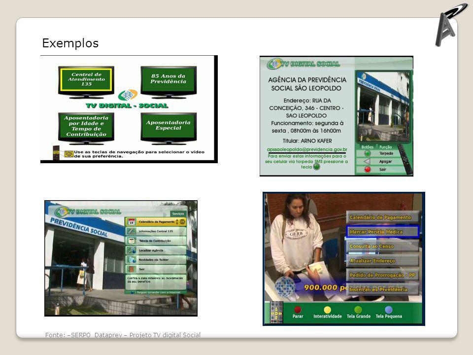 Exemplos Fonte: Amadeus Tv – cin.ufpe.br