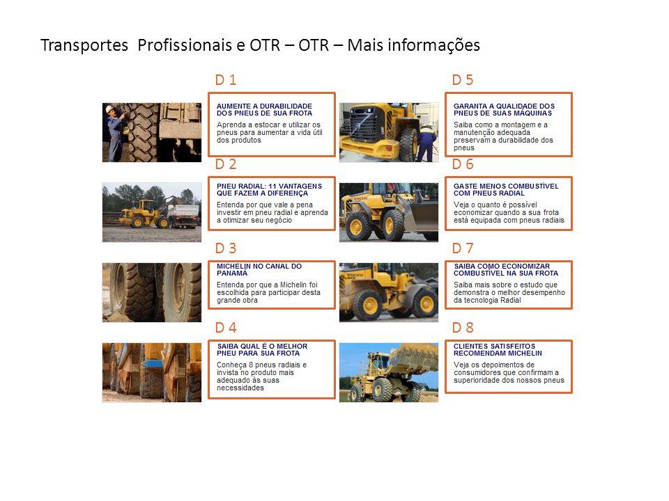 Transportes profissionais & OTR - Tudo sobre OTR - Pneu - XLDD1 P1 P2