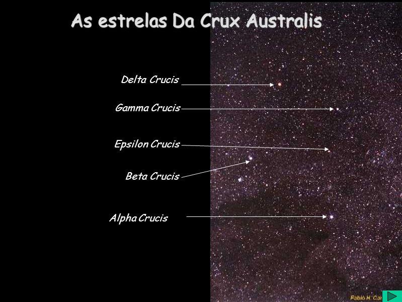 Alpha Crucis Beta Crucis Gamma Crucis Delta Crucis Epsilon Crucis As estrelas Da Crux Australis
