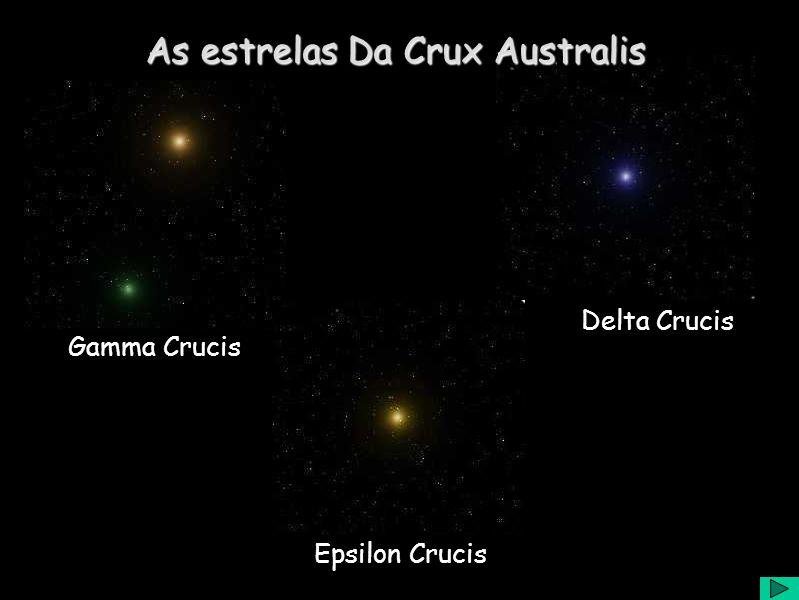 Delta Crucis Gamma Crucis Epsilon Crucis As estrelas Da Crux Australis