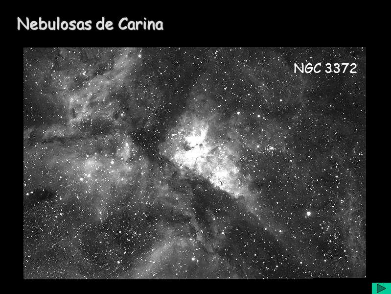 Nebulosas de Carina NGC 3372
