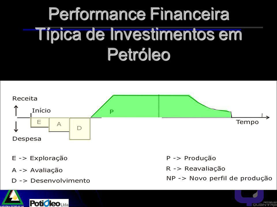Performance Financeira Típica de Investimentos em Petróleo