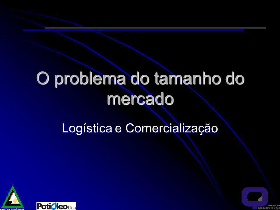 O problema do tamanho do mercado Logística e Comercialização
