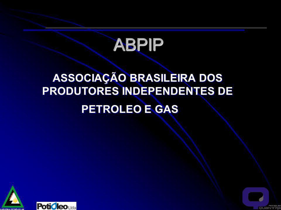 ABPIP ASSOCIAÇÃO BRASILEIRA DOS PRODUTORES INDEPENDENTES DE PETROLEO E GAS