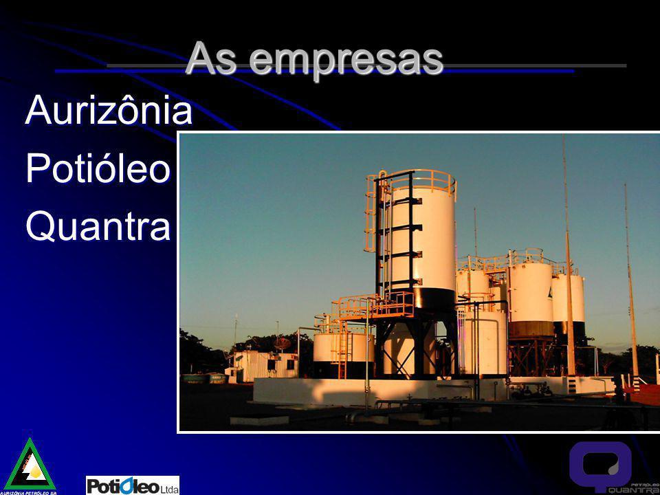As empresas AurizôniaPotióleoQuantra