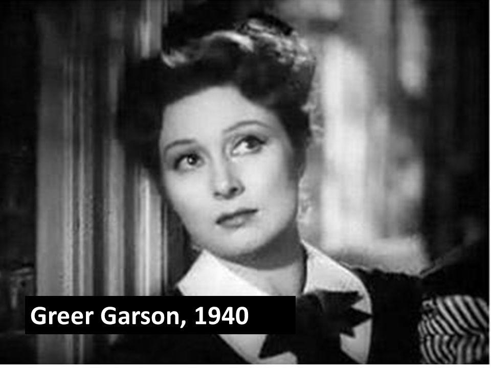 Greer Garson, 1940